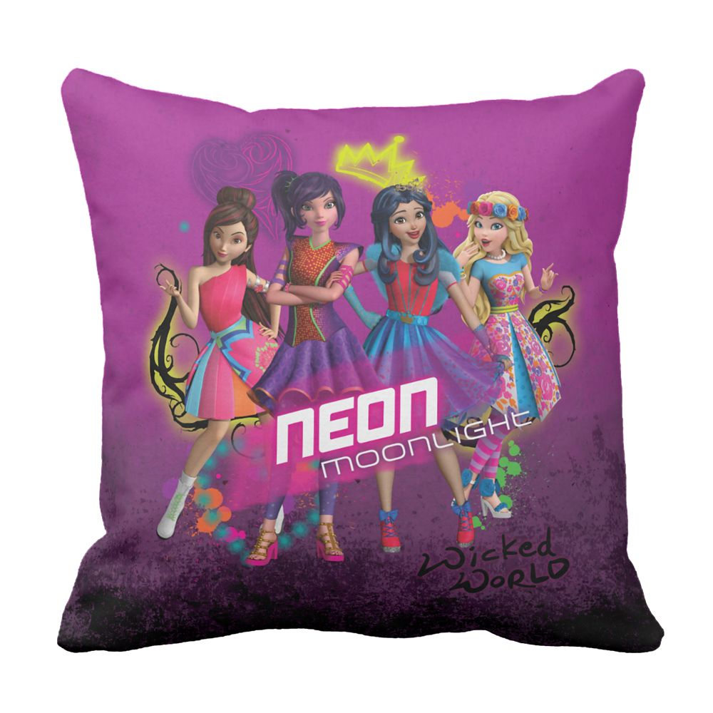 Descendants Wicked World Pillow – Customizable