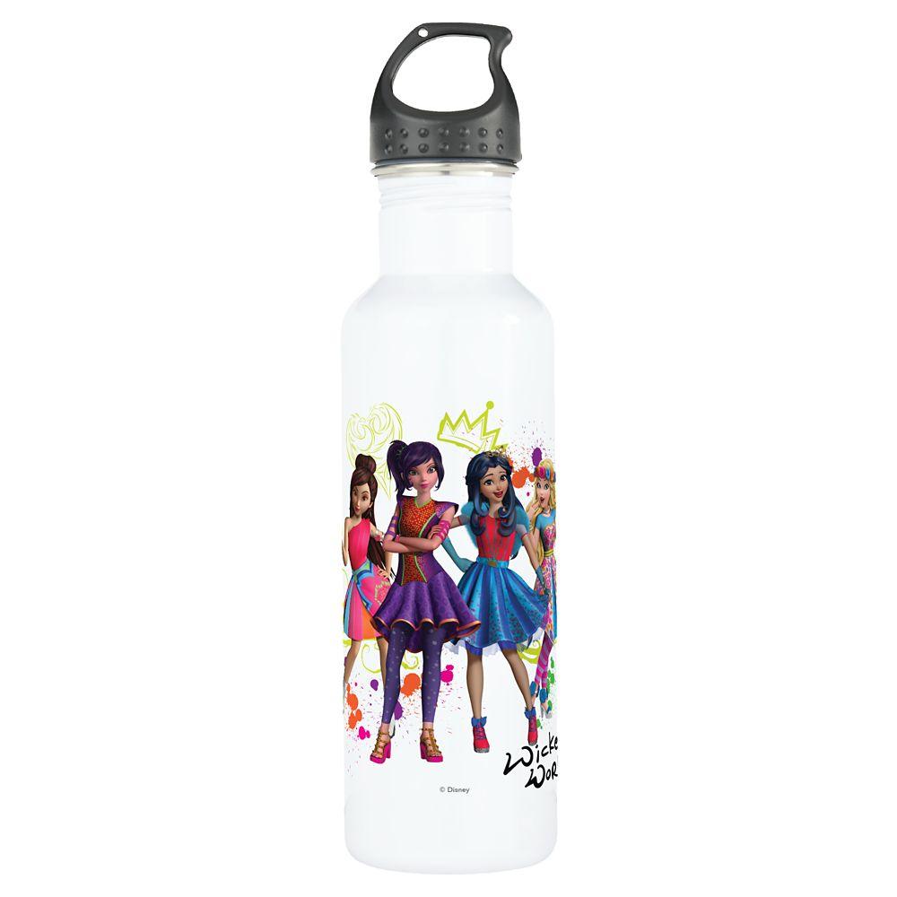 Descendants Wicked World Water Bottle – Customizable