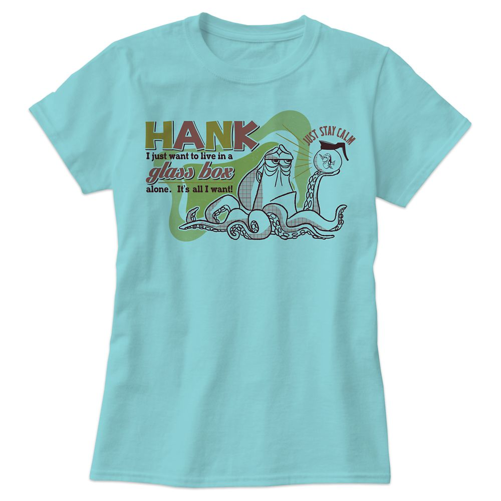 Hank Tee for Women  Finding Dory  Customizable Official shopDisney