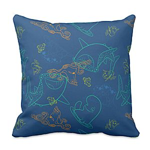 """Finding Dory """"Sketch"""" Pillow – Customizable"""