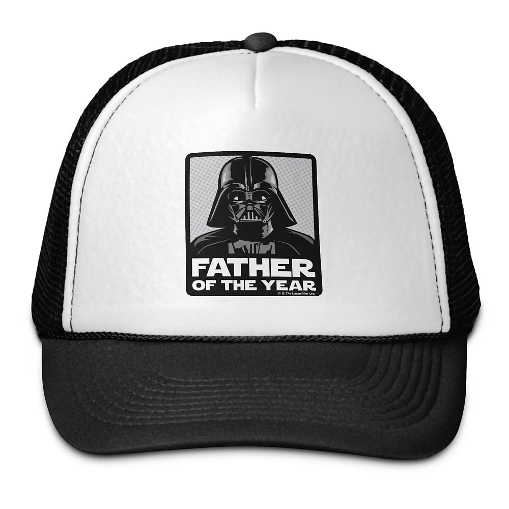 Darth Vader Father of the Year Trucker Hat – Star Wars – Customizable
