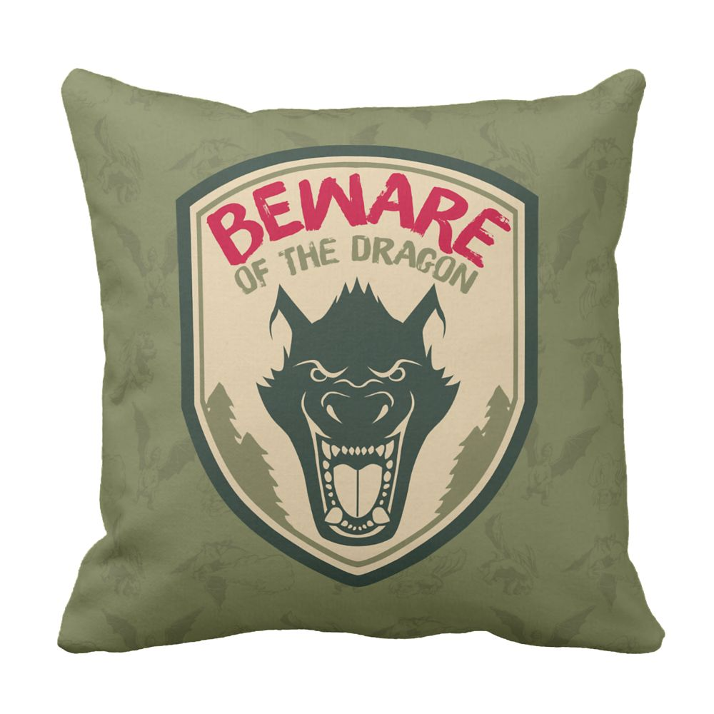 Pete's Dragon Pillow – Customizable