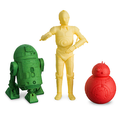 Star Wars 3D Printed Plastic Droid Figure - Customizable
