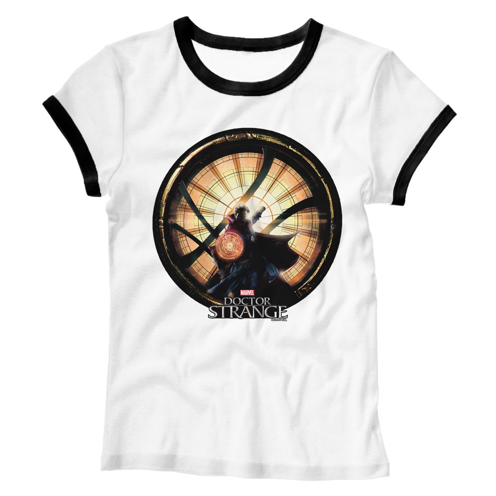 Doctor Strange Ringer Tee for Women – Customizable