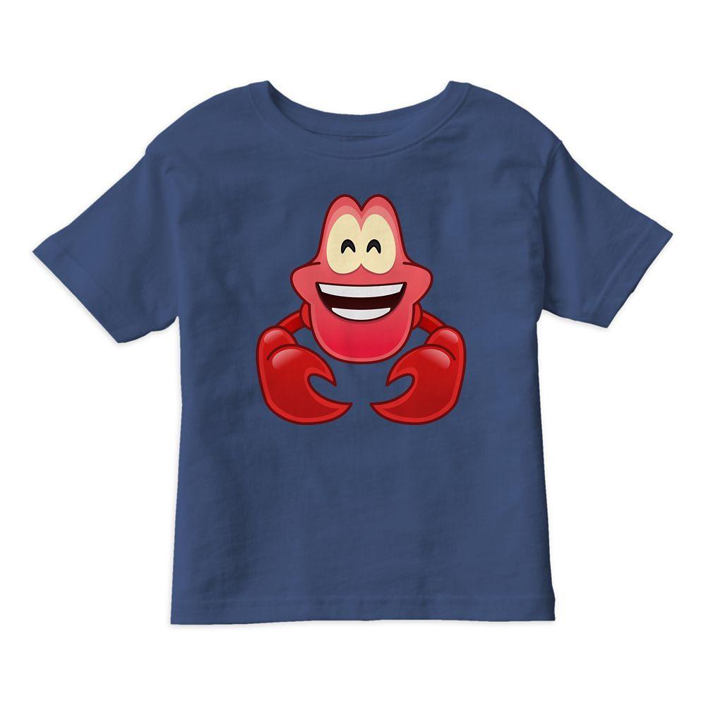 Sebastian Emoji Tee for Kids  The Little Mermaid  Customizable Official shopDisney