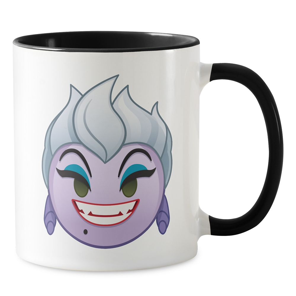 Ursula Emoji Combo Mug – The Little Mermaid – Customizable