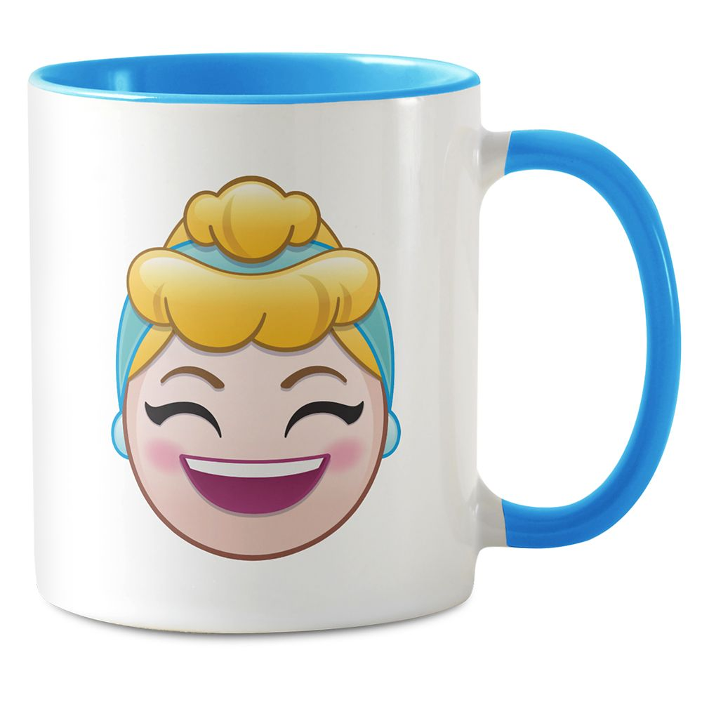 Cinderella Emoji Combo Mug – Customizable