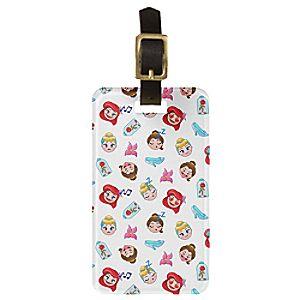 Disney Princess Emoji Luggage Tag - Customizable