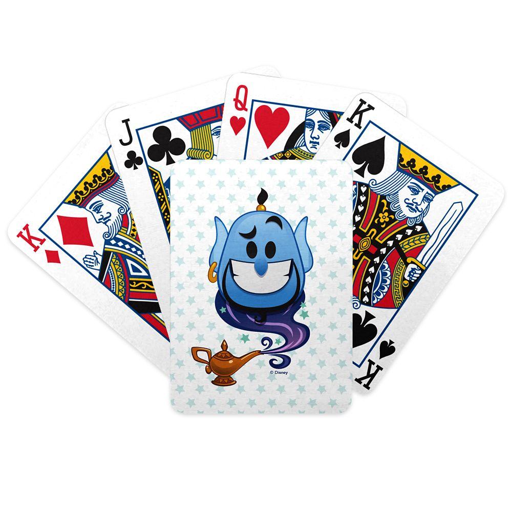 Genie Emoji Playing Cards – Aladdin – Customizable