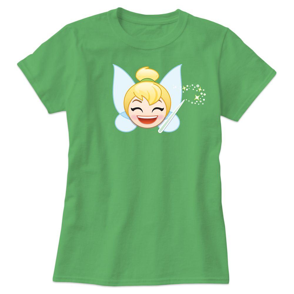 Tinker Bell Emoji Tee for Women – Customizable
