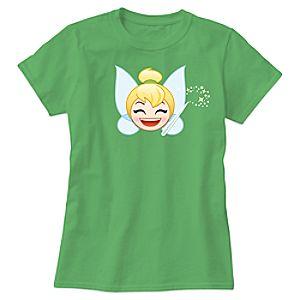 Tinker Bell Emoji Tee for Women - Customizable