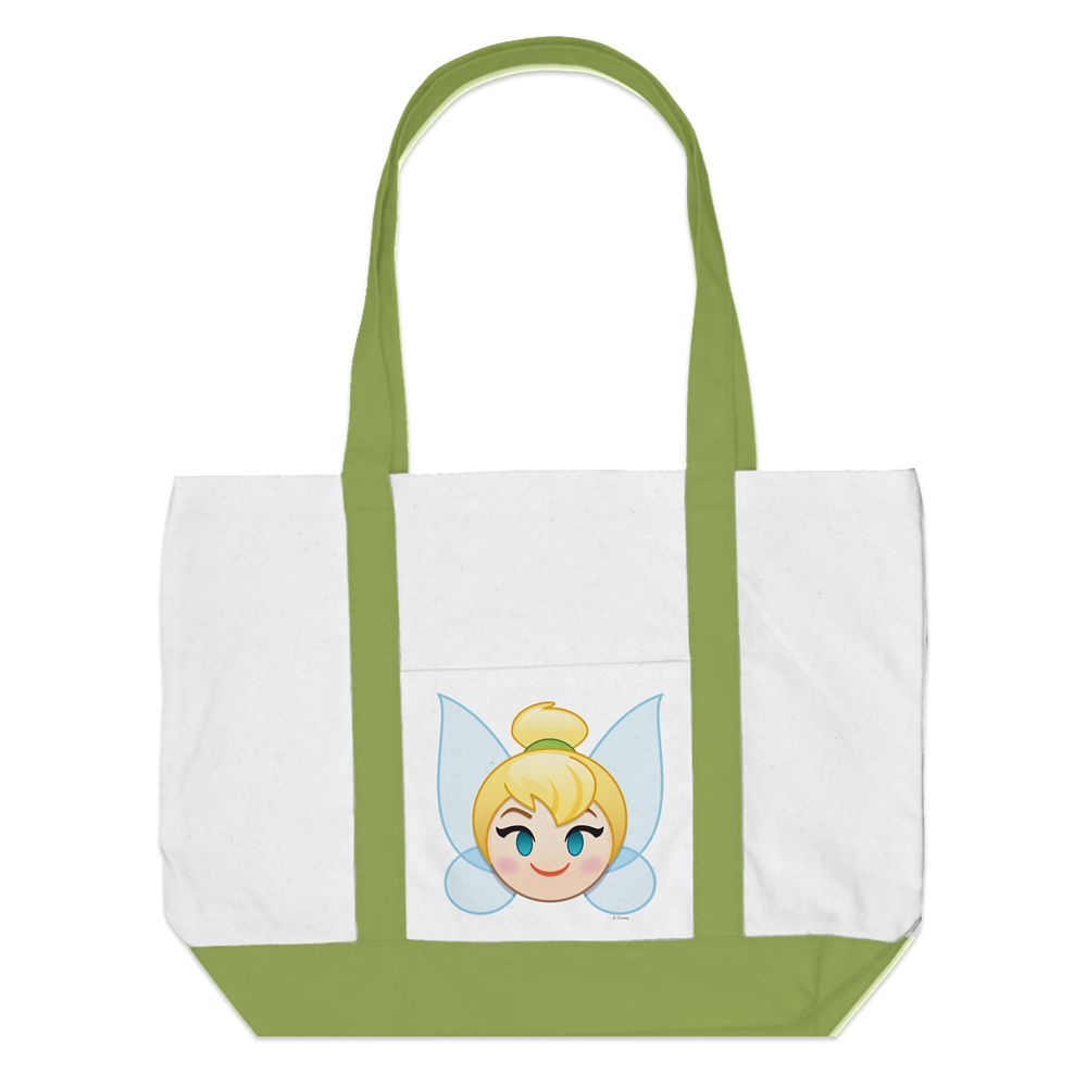 Tinker Bell Emoji Tote  Customizable Official shopDisney