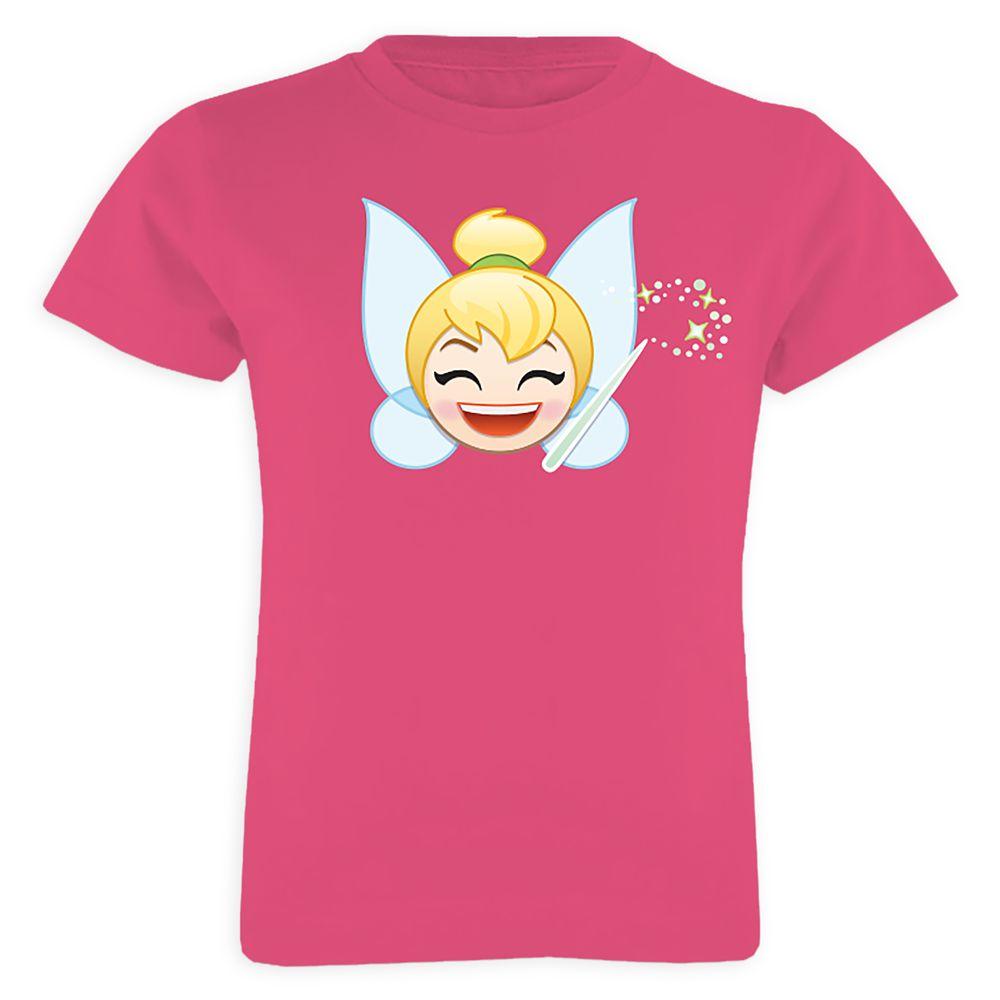 Tinker Bell Emoji Tee for Girls  Customizable Official shopDisney