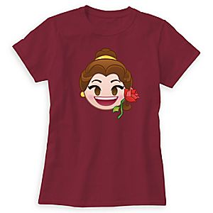 Belle Emoji Tee for Women - Customizable