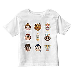 Beauty and the Beast Emoji Tee for Kids – Customizable