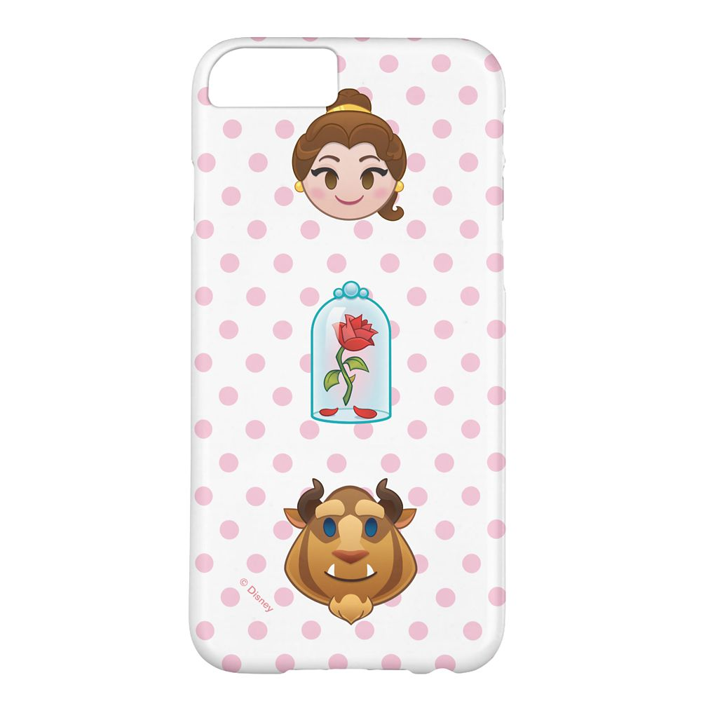 Beauty and the Beast Emoji iPhone 6/6S Case – Customizable