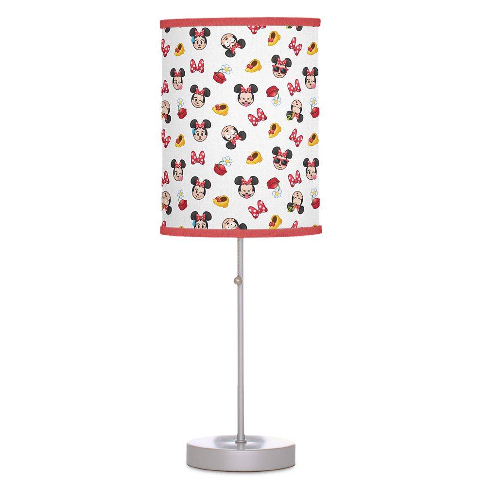 Minnie Mouse Emoji Lamp  Customizable Official shopDisney