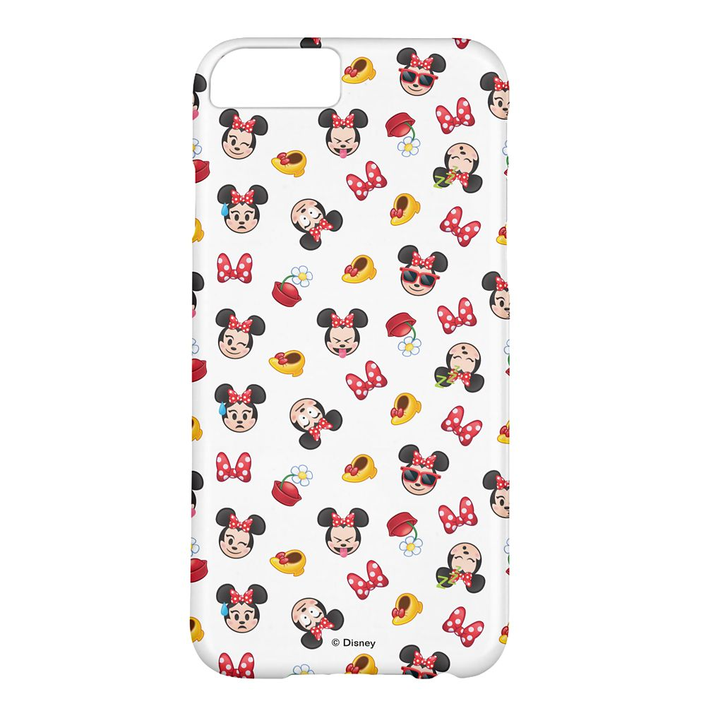 Minnie Mouse Emoji iPhone 6/6S Case – Customizable