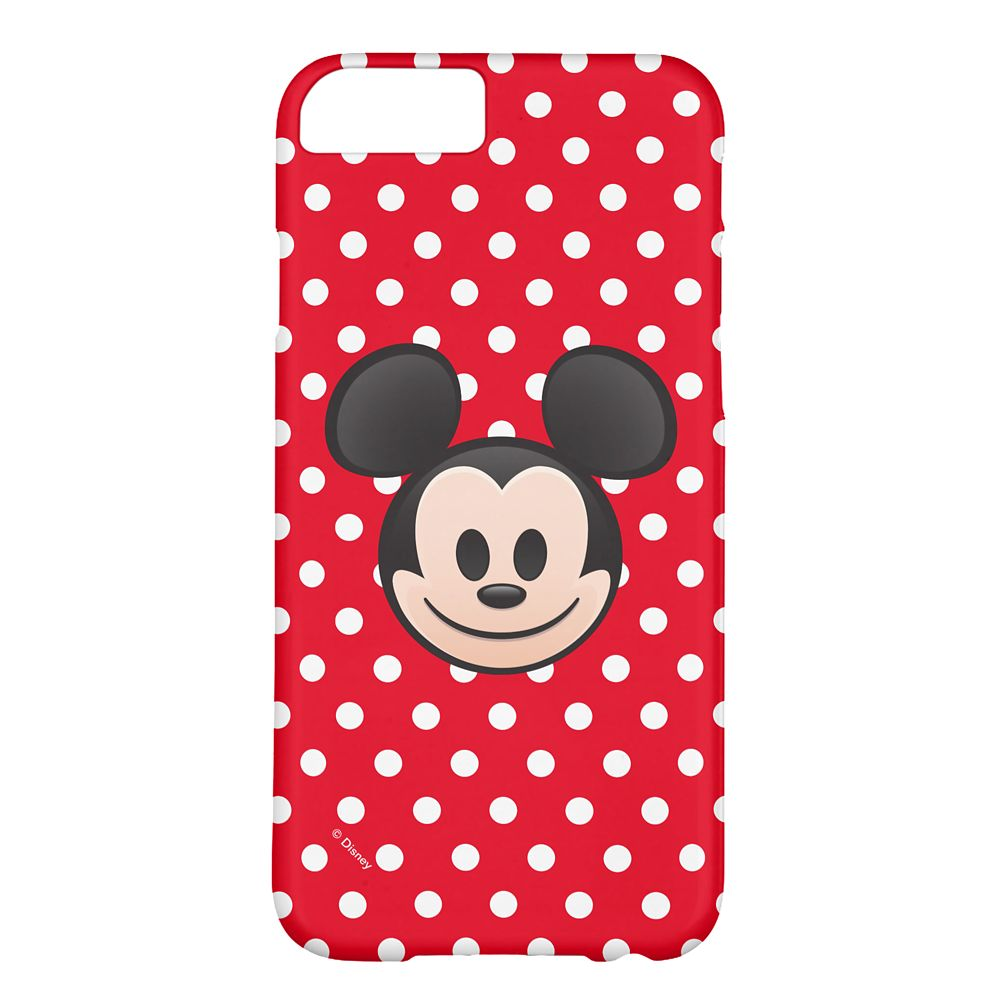 Mickey Mouse Emoji iPhone 6/6S Case – Customizable