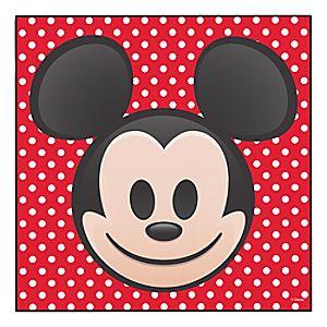 Mickey Mouse Emoji Wood Wall Art – Customizable