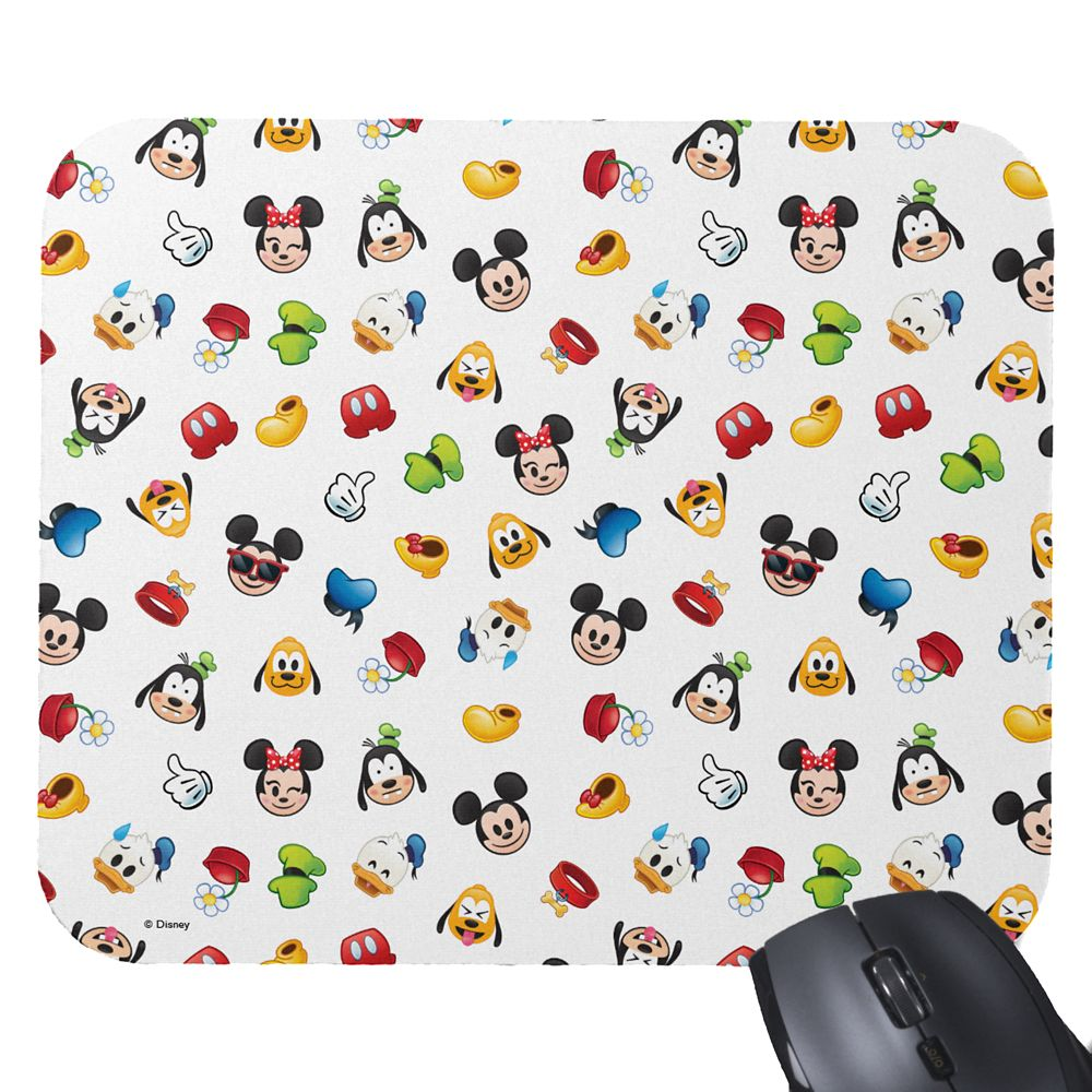 Mickey Mouse and Friends Emoji Mouse Pad – Customizable