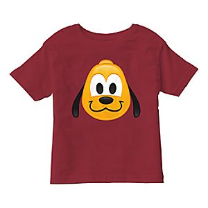 Pluto Emoji Tee for Kids - Customizable
