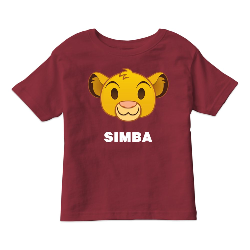 Simba Emoji Tee for Kids  Customizable Official shopDisney