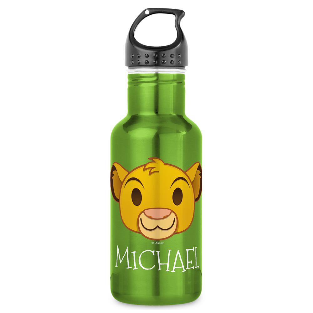 Simba Emoji Water Bottle  Customizable Official shopDisney