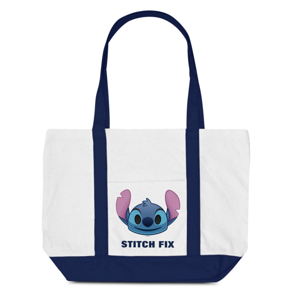 Stitch Emoji Tote Bag – Customizable