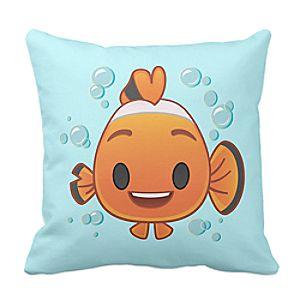 Nemo Emoji Pillow - Customizable