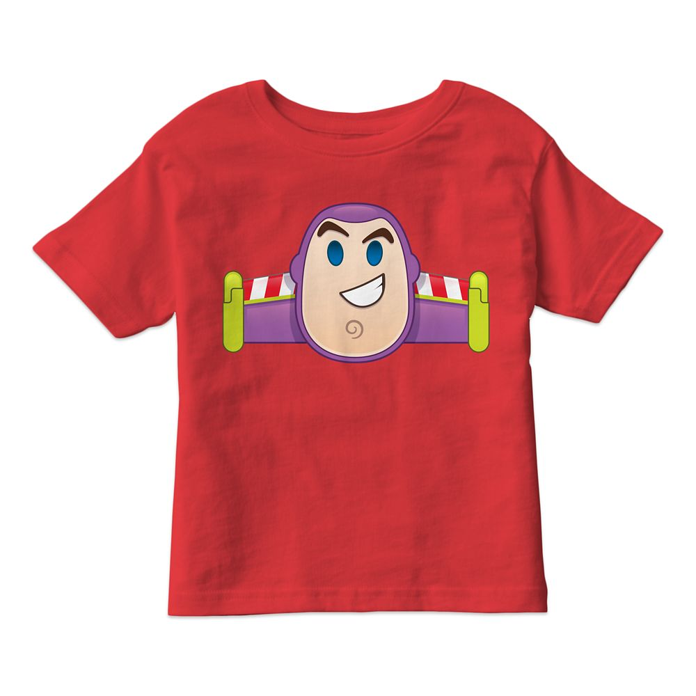 Buzz Lightyear Emoji Tee for Kids  Customizable Official shopDisney