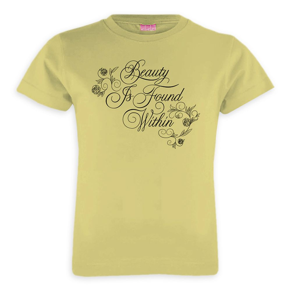 Beauty and the Beast Tee for Girls  Live Action Film  Customizable Official shopDisney