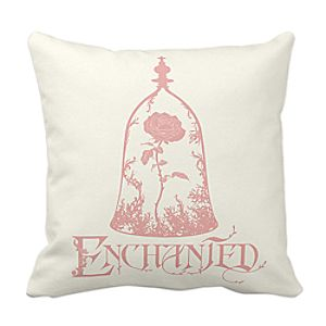 Beauty and the Beast Pillow – Live Action Film – Customizable