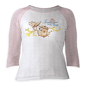 Mrs. Potts and Chip Raglan Tee for Women – Beauty and the Beast – Live Action Film – Customizable