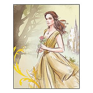 Beauty and the Beast ''A Most Peculiar Girl'' Wall Art - Live Action Film - Customizable