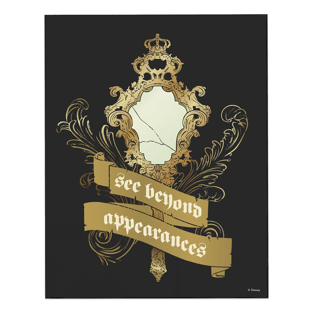 Beauty and the Beast ''See Beyond Appearance'' Wall Art  Live Action Film  Customizable Official shopDisney