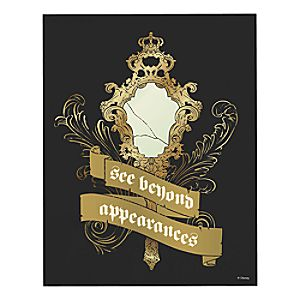 """Beauty and the Beast """"See Beyond Appearance"""" Wall Art – Live Action Film – Customizable"""