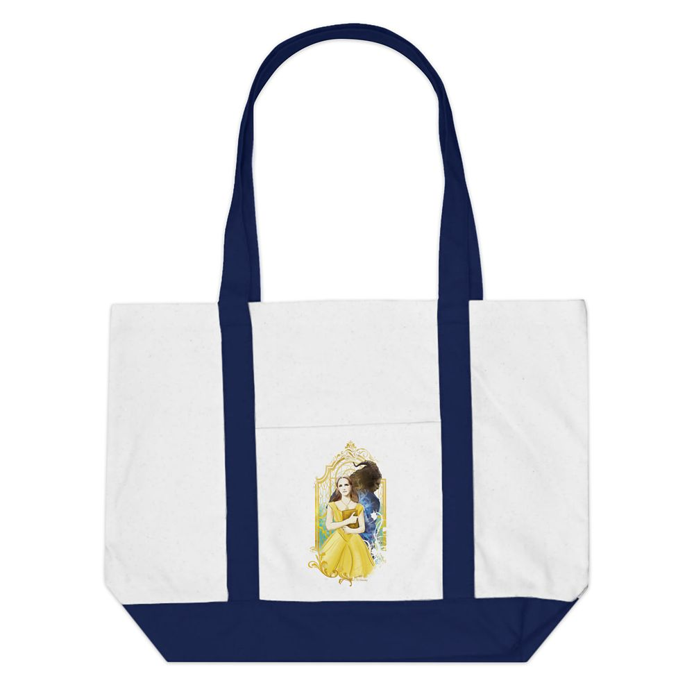 Beauty and the Beast Tote Bag  Live Action Film  Customizable Official shopDisney