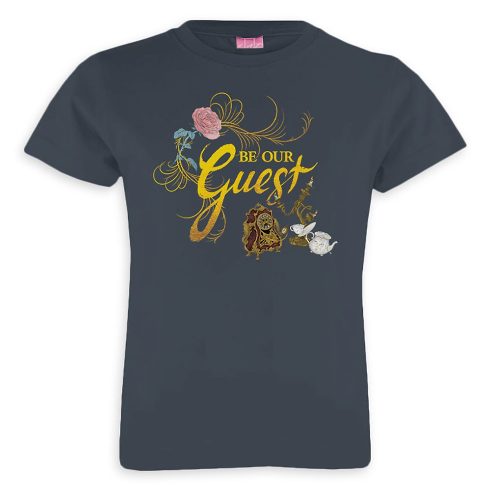 Beauty and the Beast Be Our Guest Tee for Girls  Live Action Film  Customizable Official shopDisney