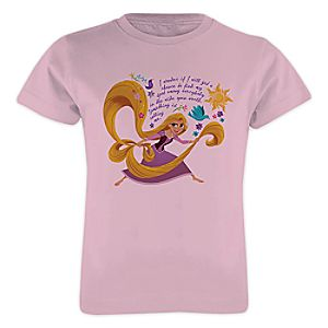 Rapunzel Tee for Girls - Customizable