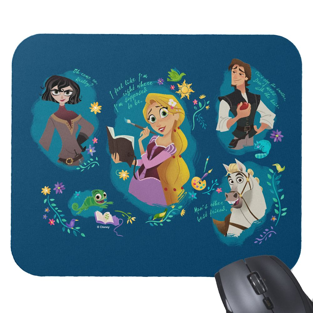 Tangled Mouse Pad – Customizable