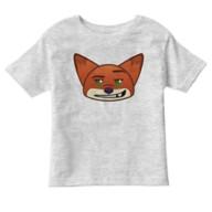 Nick Wilde Emoji Tee for Kids – Zootopia – Customizable