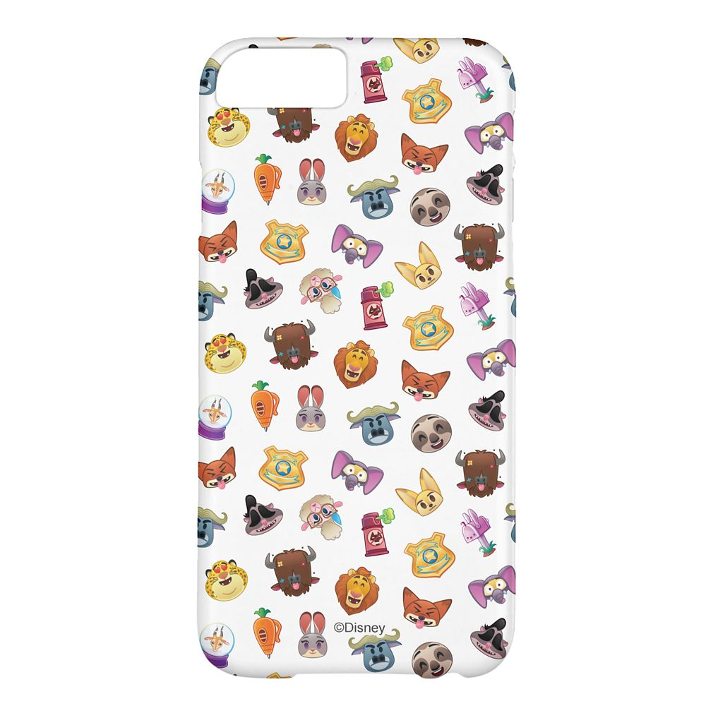 Zootopia Emoji iPhone 6/6S Case – Customizable