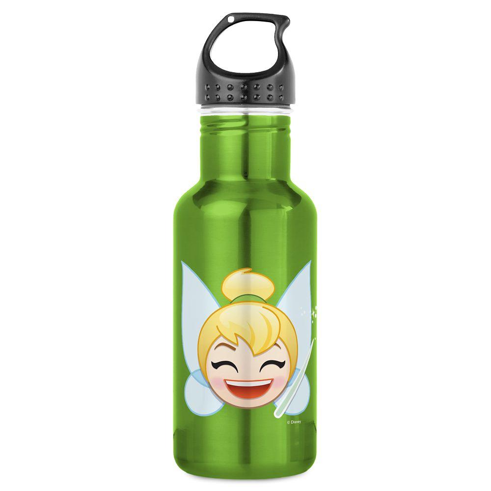 Tinker Bell Emoji Water Bottle – Customizable