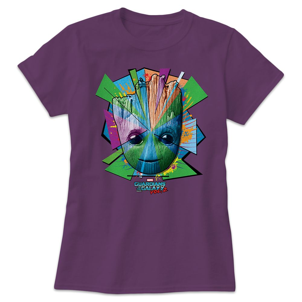 Groot Tee for Women  Guardians of the Galaxy Vol. 2  Customizable Official shopDisney