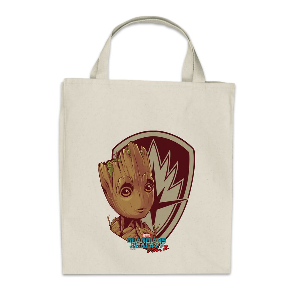 shopdisney.com - Groot Tote Bag  Guardians of the Galaxy Vol. 2  Customizable Official shopDisney 19.95 USD