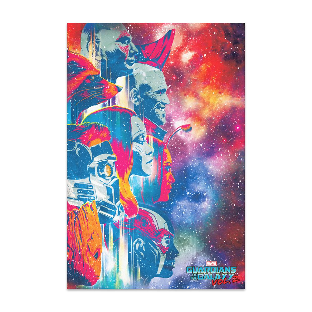 Guardians of the Galaxy Vol. 2 Art Print on Canvas  Customizable Official shopDisney