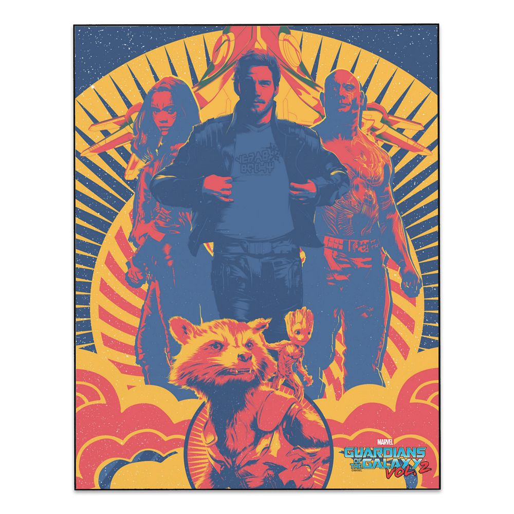 Guardians of the Galaxy Vol. 2 Wall Panel Art  Customizable Official shopDisney