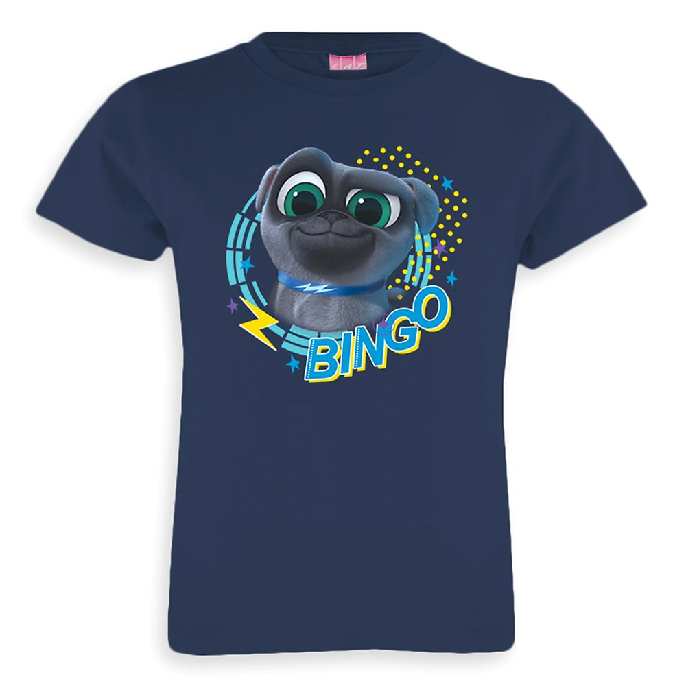 Bingo Tee for Girls – Puppy Dog Pals – Customizable