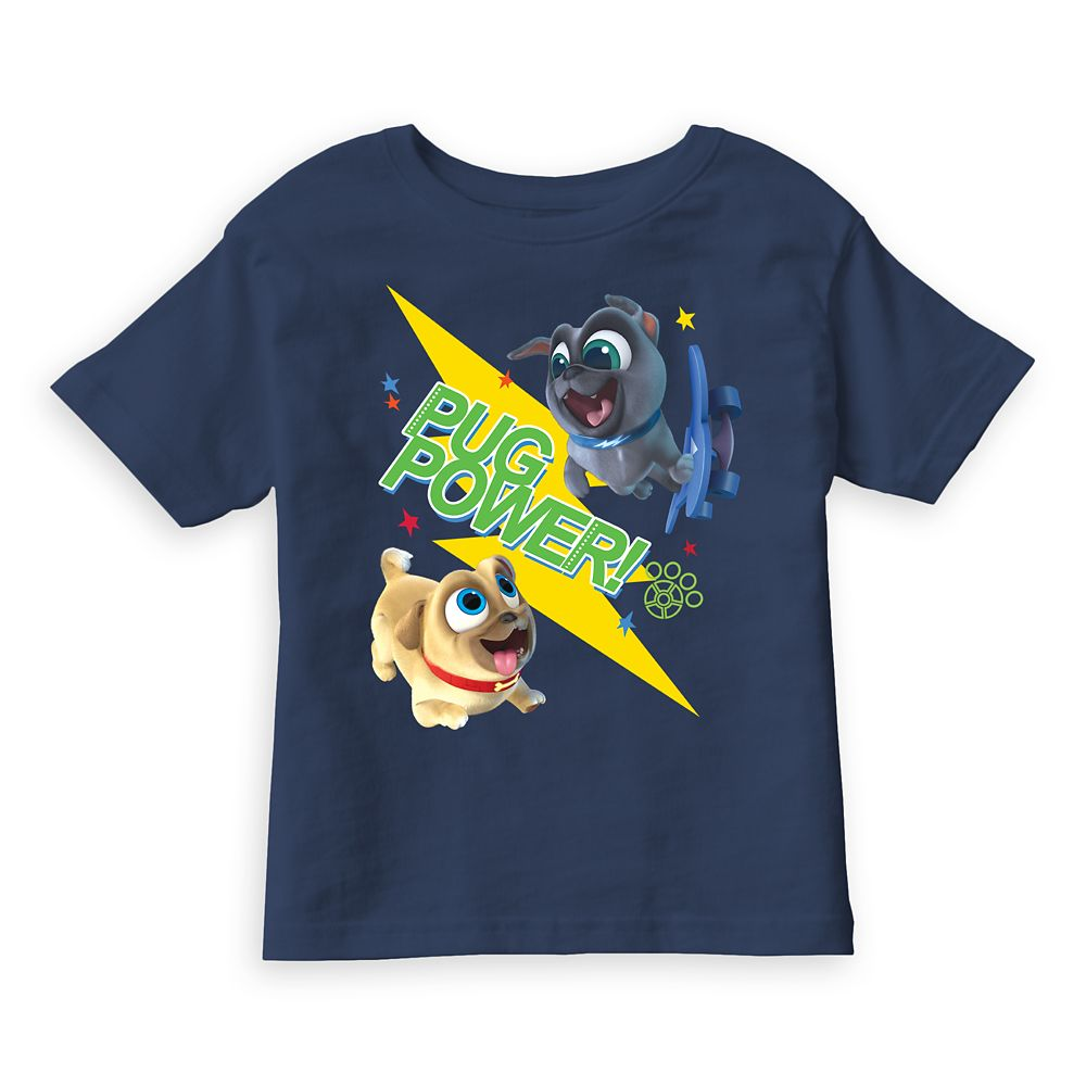 Puppy Dog Pals ''Pug Power'' Tee for Kids – Customizable